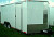 8.5x18 Enclosed Cargo trailer Haulstar White