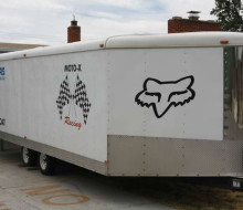 2002 international snowmobile trailer 1