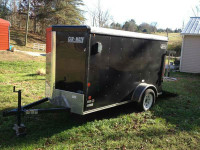 2013 5x10 Enclosed Cargo Trailer