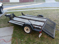 3 PLACE MOTORCYCLE TRAILER