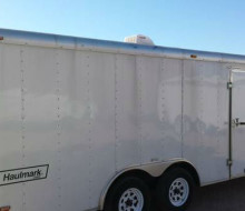2005 8.5x20, HAULMARK, ENCLOSED TRAILER
