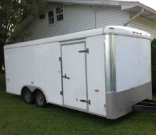 8.5x18 Enclosed Cargo Trailer