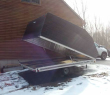 Floe snowmobile trailer