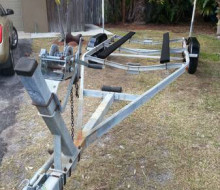 25 foot boat trailer