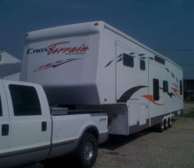 2006 Crossroads Cross Terrain 36DS 38\' 5th Wheel Toy Hauler