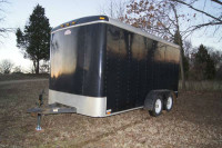 cargo mate 14 foot enclosed trailer