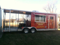 2012 FREEDOM CONCESSION TRAILER 22\'x8\' Trailerocity