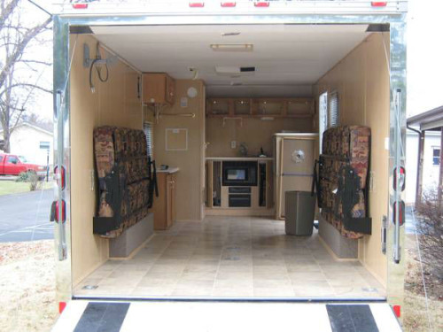 2006 Pace American Explorer Rt Toy Hauler Trailer