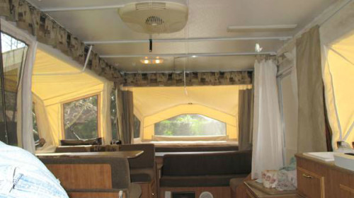 2009 Rockwood Quot Premier Quot 2514g Pop Up Camper Trailerocity Com
