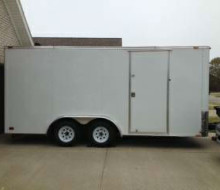 2013 enclosed Cargo Mate trailer