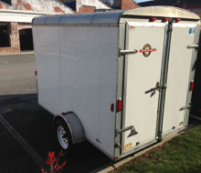 6x10 Carry-On Enclosed cargo trailer Trailerocity