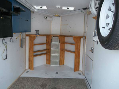 "2003 Haulmark 6x14 ""V"" nose cargo trailer with 13500 roof ..."
