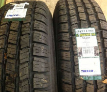 2 Brand New Tires with new wheels Trailerocity