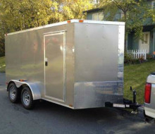 2013 7x12 Enclosed Trailer Diamond Cargo Trailerocity
