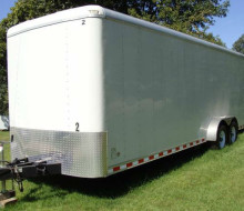 2010 Pace American 7\' X 24\' Fully Enclosed Trailer