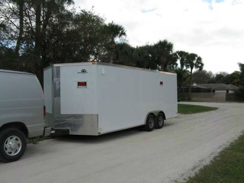 2013 85x20 Enclosed Cargo Trailer Trailerocity 1