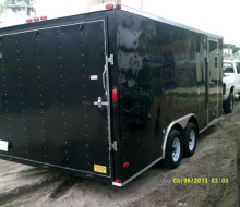 2011 lark enclosed cargo trailer