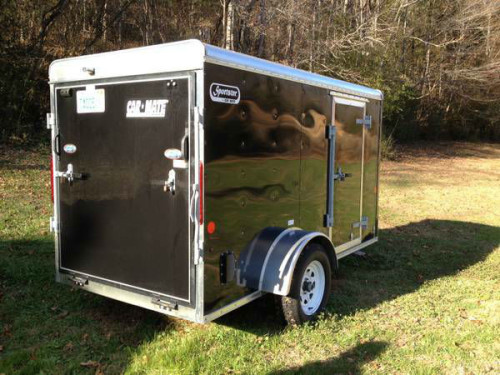 2013 5x10 Enclosed Cargo Trailer Trailerocity