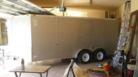 2009 frontier 7x16 enclosed v-nose cargo trailer Trailerocity