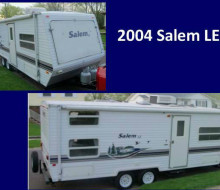 2004 Salem 25 Foot Travel Trailer