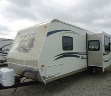 NEVER USED 2013 Venture SportTrek 270VRL Travel Trailer 1