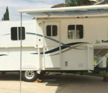 2002 TRAIL MANOR Pop Up Travel Trailer 1