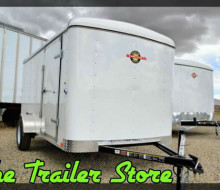 New 6x12 Enclosed Cargo Trailer Trailerocity 1