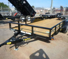 Big Tex Heavy Duty Utility Trailer 7x16 1