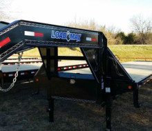 40\' Gooseneck Trailer, Monster Ramps, 12k Dexter Axles 1