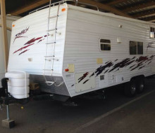 2004 Ragen 24foot toy Hauler travel trailer Trailerocity.com 1