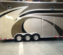 2006 Continental Cargo enclosed car trailer semi stacker Trailerocity 1