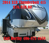 2014 FOREST RIVER XLR THUNDERBOLT 415AMP 1