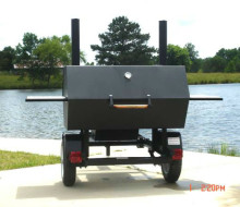 New BBQ Smoker Trailer with Reverse Flow Trailerocity 1