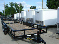 Trailers - Enclosed Cargo & Open Utility 1