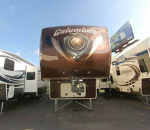 2015 Palomino Columbus F3650TH Toy Hauler trailerocity 1