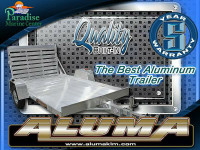 NEW ALUMINUM UTILITY TRAILERS 1