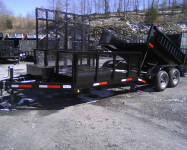 2014 dump trailer combo all in 1 unit 1