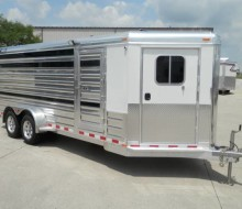 4-Star Low Profile Pig-Sheep Trailer
