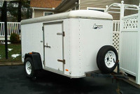 1997 AVENGER ENCLOSED CARGO TRAILER TRAILEROCITY 1