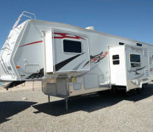 2007 Forest River Sandpiper Sport 40SP 5th Wheel Toy Hauler 1