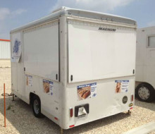 Custom Enclosed Concession Food Vending Trailer 1