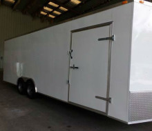 NEW!! 8.5x24 Tandem Axle V Nose Enclosed Cargo Trailer 1