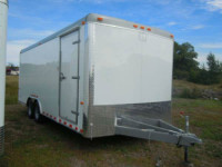 New 2014 8.5x20 Cargo Craft Enclosed Cargo Trailer 1