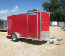 Stealth 6 X 12 Aluminum Enclosed Cargo Trailer 1